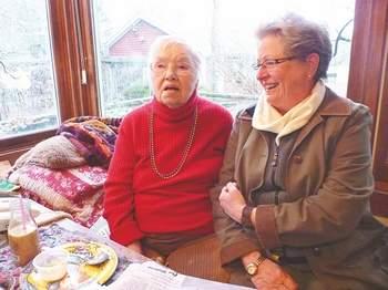 Eileen Worthington and Carol Christiansen, 2011