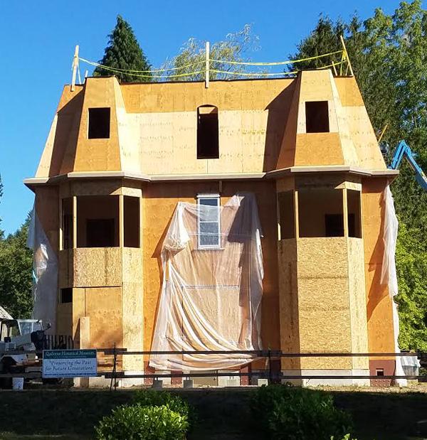 Mansard Roof Taking Shape!
